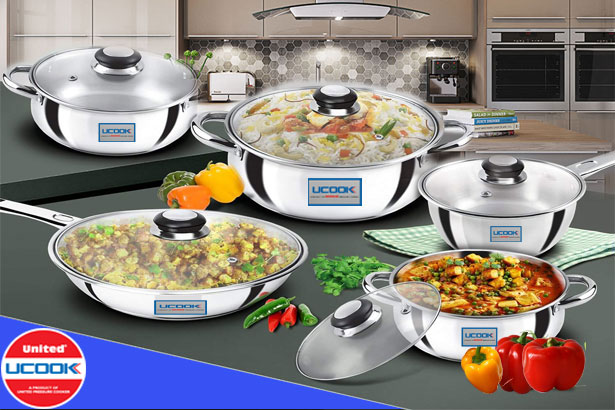 Buy Online Stainless Steel Casserole Cookware